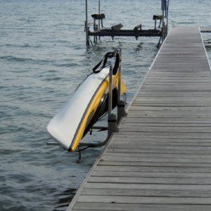 Kayak Holder - Dockside Operation