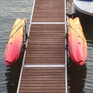 Waterside Kayak Dock Rack