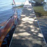 Waterside Kayak Dock Storage