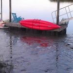 Dockside Stainless Steel Kayak Rack