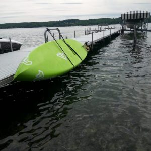 Paddleboard Dock Storage Rack