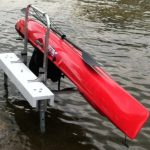 Waterside Kayak Storage on Kayak Shelf