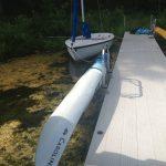Waterside Kayak Holder
