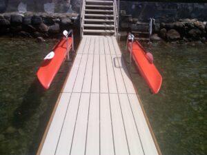 Kayak Dock Side Storage Rack The Docksider
