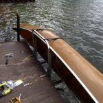 Canoe Dock Storage Rack
