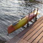 DockSider Dockside Kayak Dock Rack - Clamp On