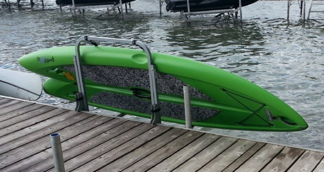 Paddle Board Rack >> Paddleboard Sup Dock Rack Lift Storage