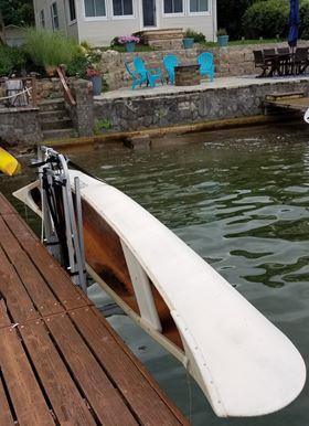Canoe Dock Lift & Storage Rack