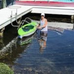 Kayak Dock Lift & Storage Rack, Florida