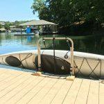 kayak rack for dock