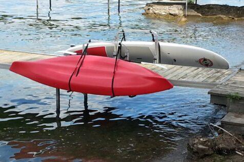 SUP and Kayak Rack for Dock