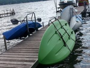 Paddle Board Lift & Rack - Dock Entry