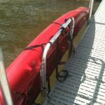 Kayak racks for dock