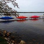 kayak dock rack