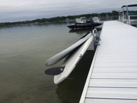 Waterside Paddleboard Dock Rack
