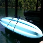 Paddle board Dock Storage Rack