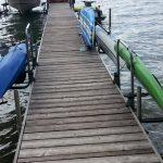 Waterside Kayak and Paddleboard Dock Rack