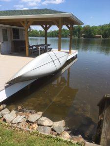 Canoe Dock Rack and Lift