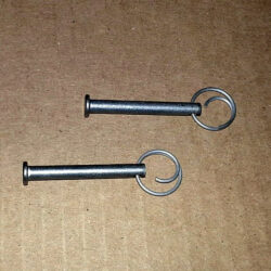 Clevis pins for Docksider kayak and paddleboard lift and rack