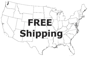Free Shipping in Continental US
