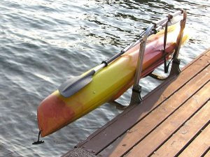 Kayak Dock Rack and Lift