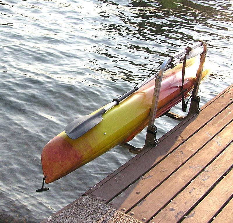Kayak Lift Storage Rack Dock Or Water Entry Dock Craft