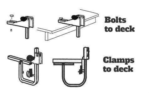 Kayak Dock Rack Instructions