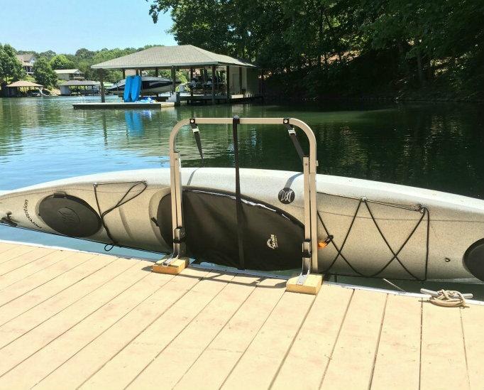 Kayak Dock Rack | Lift & Storage