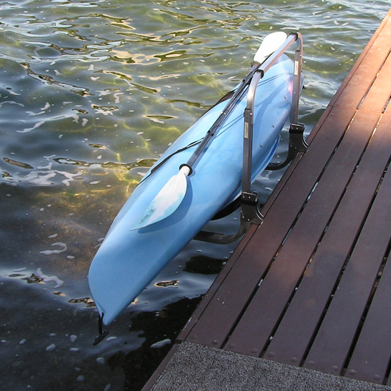 Kayak Lift & Rack - Water Entry