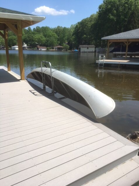 Canoe Dock Lift